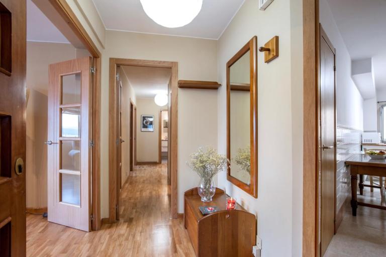 Fotografía de piso en venta en Sada. Morando.es. Escenificación Home Staging.
