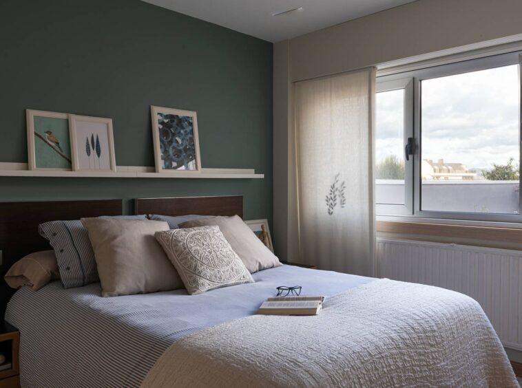 Dormitorio principal con vistas