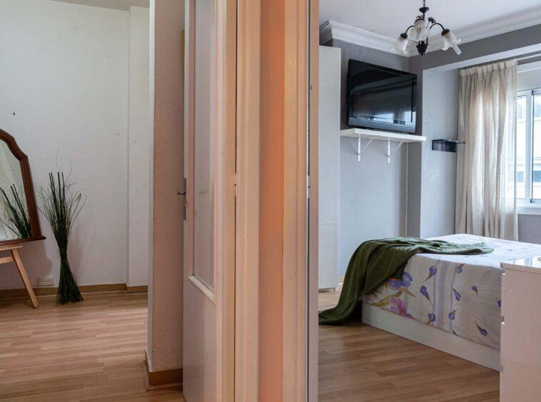 Entrada a dormitorio principal y vestidor